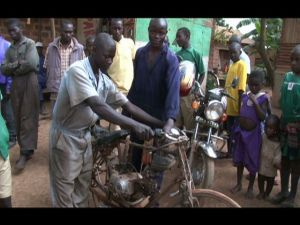 Motorized Bicycle - Uganda