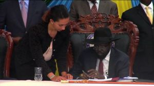 SOUTH SUDAN PEACE AGREEMENT (STA -TV)