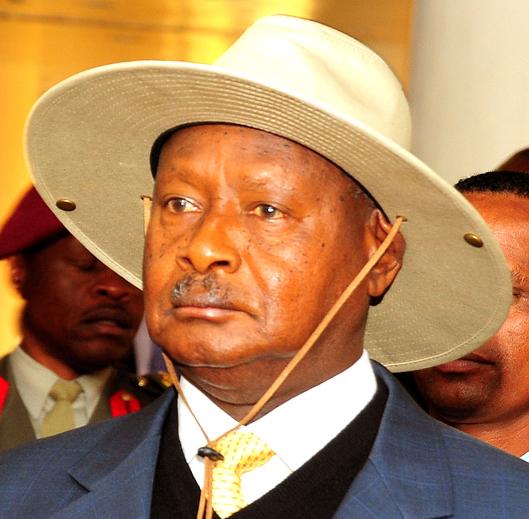 Museveni-yellow-tie
