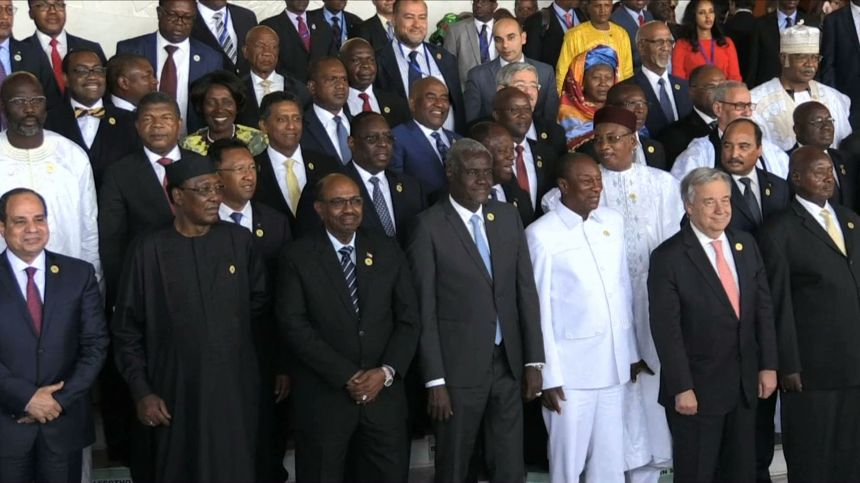 Africa's Strong Leaders
