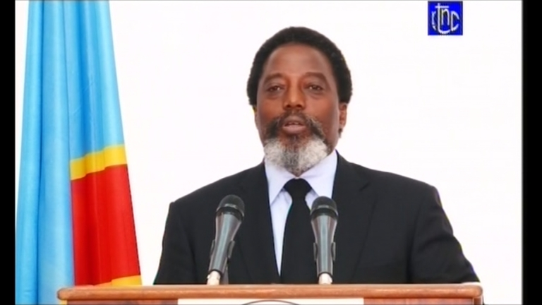 In last televised address Kabila calls on the nation to support Tshisekedi