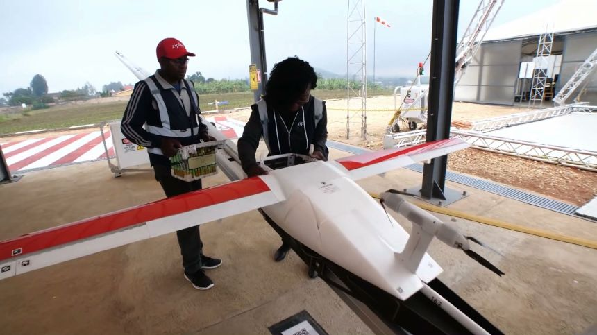 How Rwanda Built A Drone Delivery Service-1