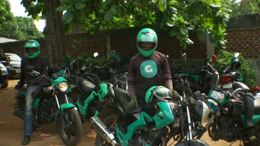A54 Motorcycle Taxi in Nigeria PKG